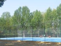 围栏网球场复杂