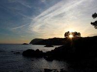 Puestas de sol desde la Costa Brava