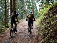 Caminos arenosos en mountain bike Girona