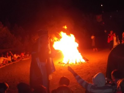 7月9日至15日在Alpujarra露营