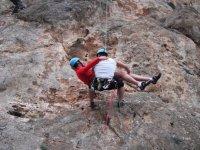 Descenso de escalada