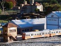 Train station model