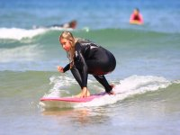 Learn surfing in Somo