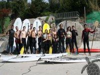 Paddle surferos