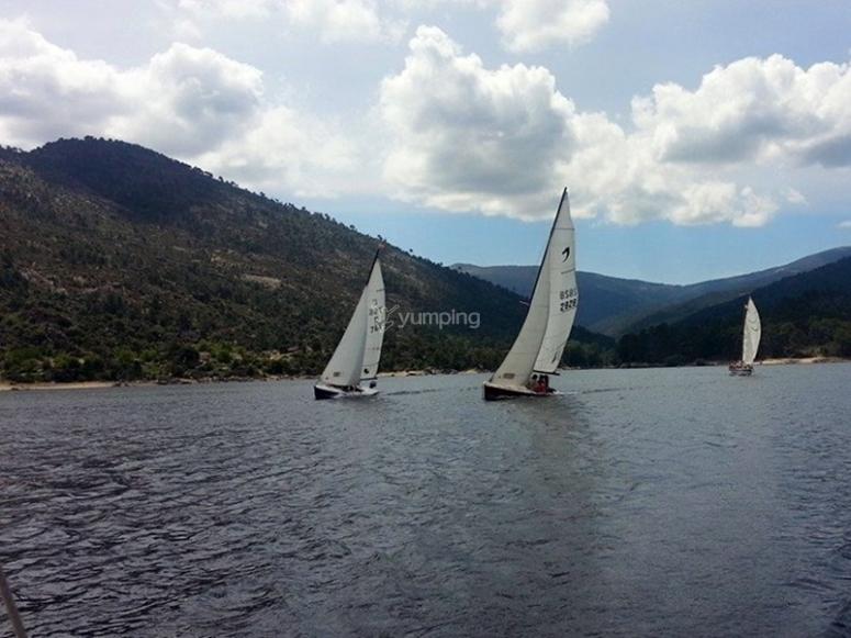 Navegando en el Cantábrico