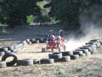 Buggy circuit on land