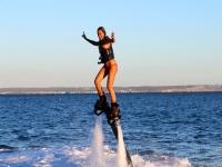 Controlando el equilibrio haciendo flyboard
