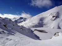 Las montanas de Berga nevadas