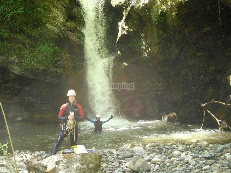 Canyoning Cantabria Riofrio