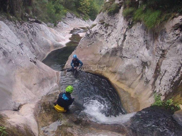 Canyoning Cantabria Navedo
