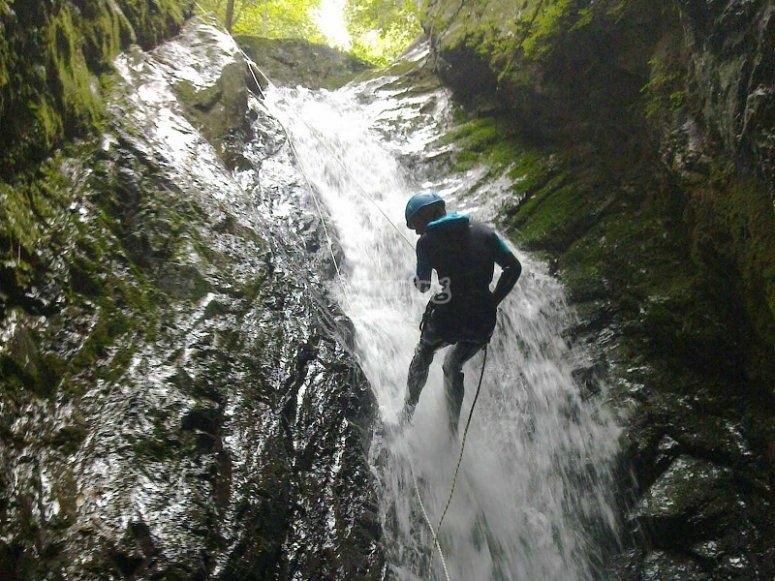 Canyoning in Cantabria Viboli