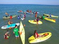 Actividades nauticas campamento de ingles