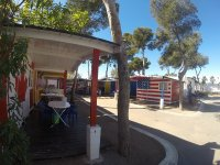 Bungalow de madera campamento Oropesa del Mar