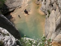 Excursion canyoning