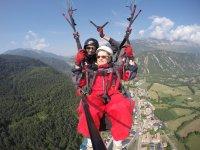 Volo in parapendio su Huesca