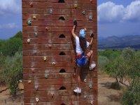 多冒险营地的rocodromo活动