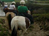 sobre el caballo