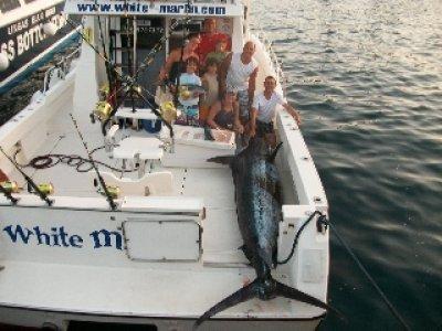 6 h. de pesca en charter privado. Puerto Rico