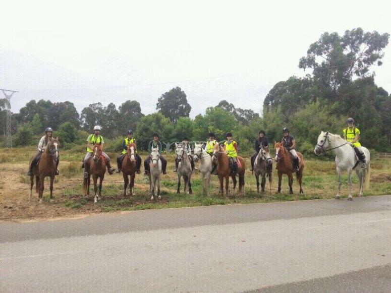 Excursion con los caballos