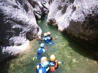 Trekking acuático en Teruel