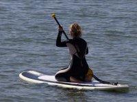 用板和桨板输入水