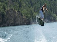 Jump over the water