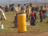 Campo plagado de obstáculos