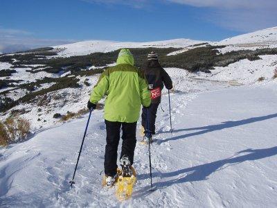 Excursión raquetas de Nieve 2,5h Sierra Nevada