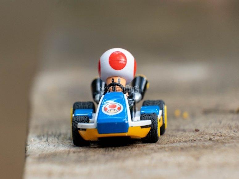 Kart en miniatura de juguete