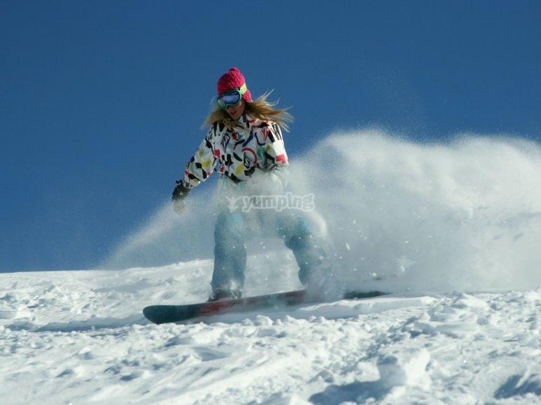 Alquila tu material de snow Sierra Nevada