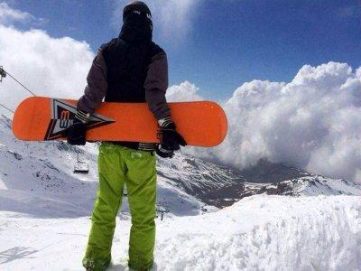Lezioni di snowboard in Sierra Nevada