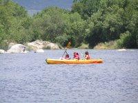Canoeing in Toledo waters