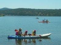Kayak in a group through Toledo