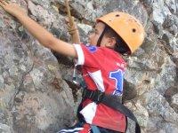Climbing in Dehesa