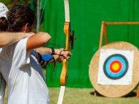 Lección de tiro con arco