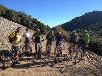 Cycling team through Toledo