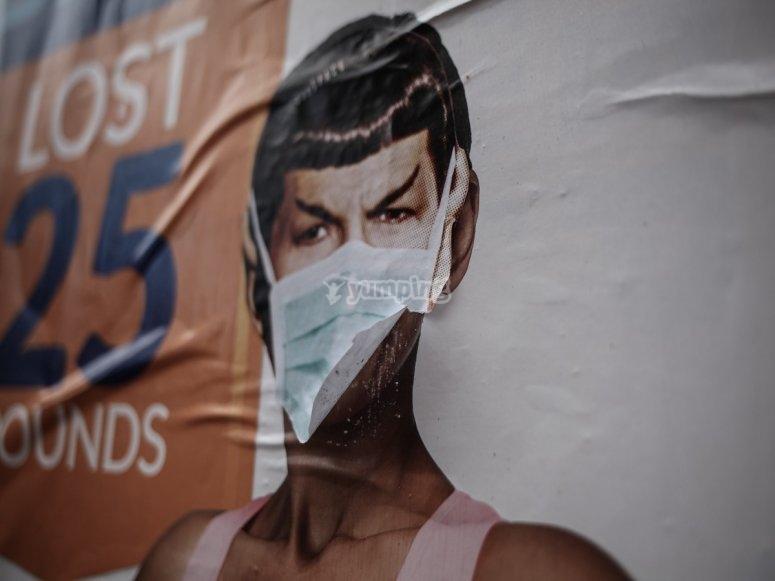 Spock también lucha contra la Covid