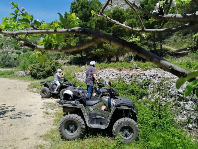 Ruta off road en quad