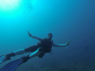 Discover Scuba Diving baptism in L'Ametlla