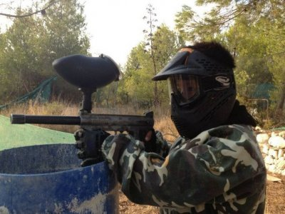 Paintball 200 balls in Paterna. Sat-Sun