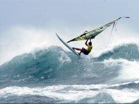 Un lugar ideal para la práctica del Windsurf