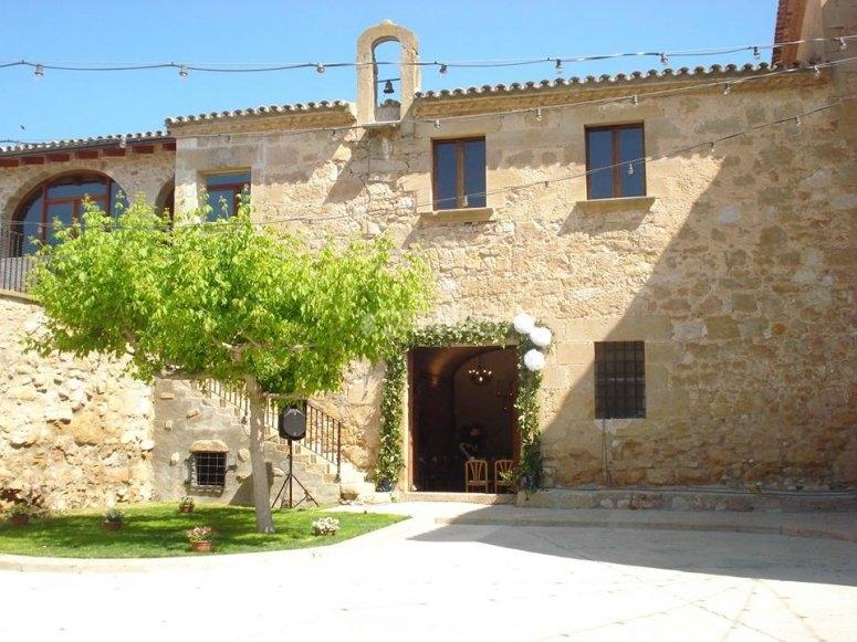 Instalaciones campamento Lleida