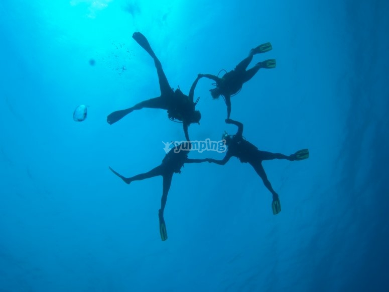 Divers in l'Ametlla