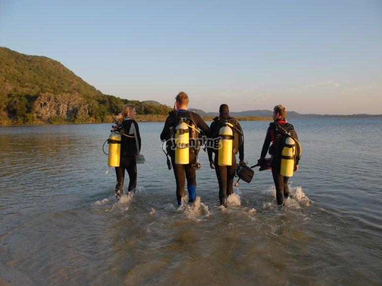 阿尔梅塔拉的沿海潜水