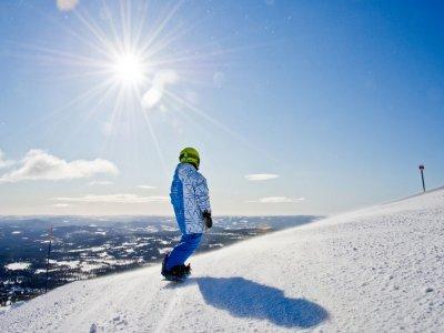 滑雪板周末路线内华达山脉4h
