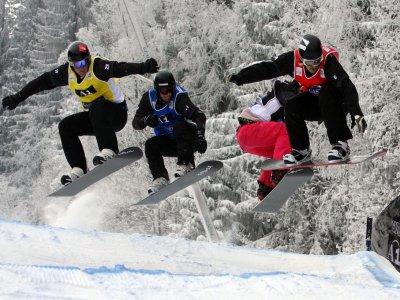 在内华达山脉的滑雪板课程5天2小时