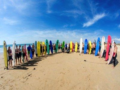 El Palmar的5天冲浪营地