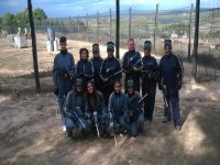 Paintball in Juneda, gear + 200 balls