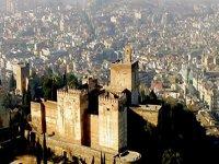 Granada from a bird's-eye view
