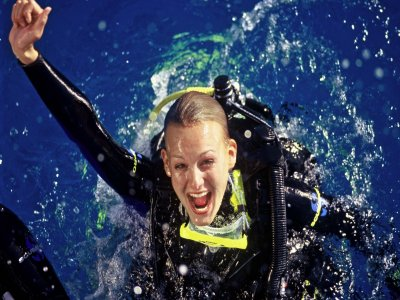 PADI潜水长课程在l'Ametlla de Mar